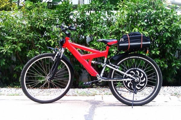 จักรยาน Turbo ติดตั้ง E-Bike Kit รุ่น Magic Pie II