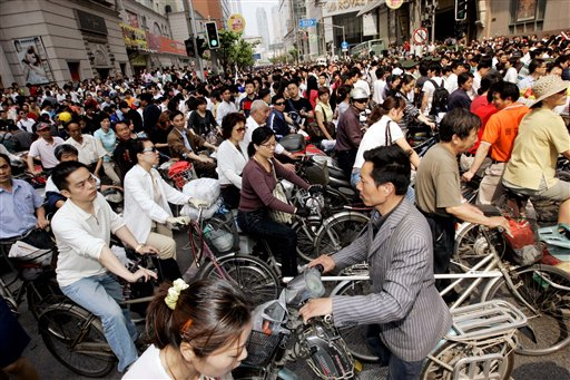 China Bicycle Kingdom — huffingtonpost.com