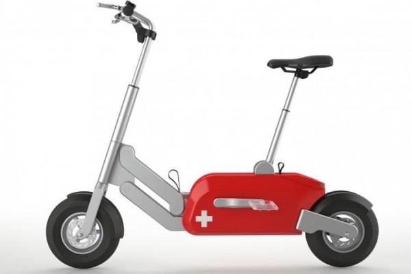จักรยานไฟฟ้าพับได้จากสวิสฯ