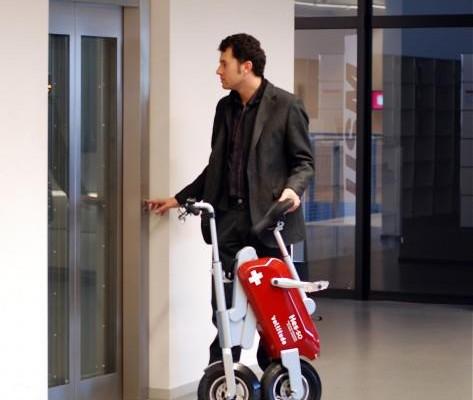 การนำจักรยานไฟฟ้าพับได้ไปใช้งาน