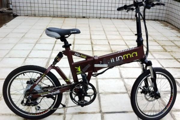 ตัวอย่างของจักรยานที่ไม่ได้จัดสายไฟ