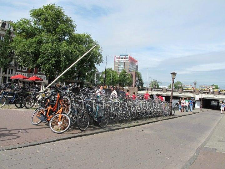 ที่นี่ใช้แต่จักรยานจริงๆ