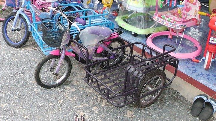 พ่วงด้านข้างที่ต่อกับจักรยานเด็ก
