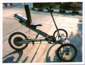 สวยชะมัดเลย จักรยานสามล้อคันนี้ ที่สำคัญเด็กไทยทำเองนี่สิ สุดยอด