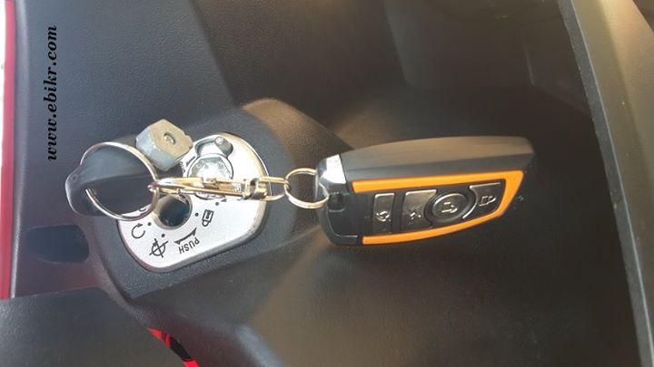 กุญแจรีโมทกันขโมย และแม่กุญแจแบบล็อกคอ และปิดฝาครอบได้