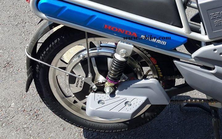 ขุมพลังจักรยานไฟฟ้าฮอนด้าจูชิ มอเตอร์ขนาด 250W ประสิทธิภาพ 90%