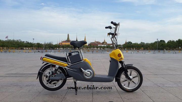 จักรยานไฟฟ้าฮอนด้า รุ่นจูชิ สำหรับผู้ชื่นชอบความคลาสสิก