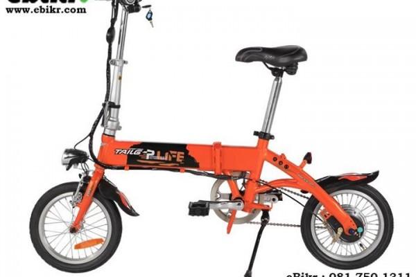 จักรยานไฟฟ้าพับได้ล้อขนาด 14 นิ้ว