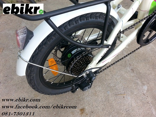รีวิวจักรยานไฟฟ้าพับได้ MINI II