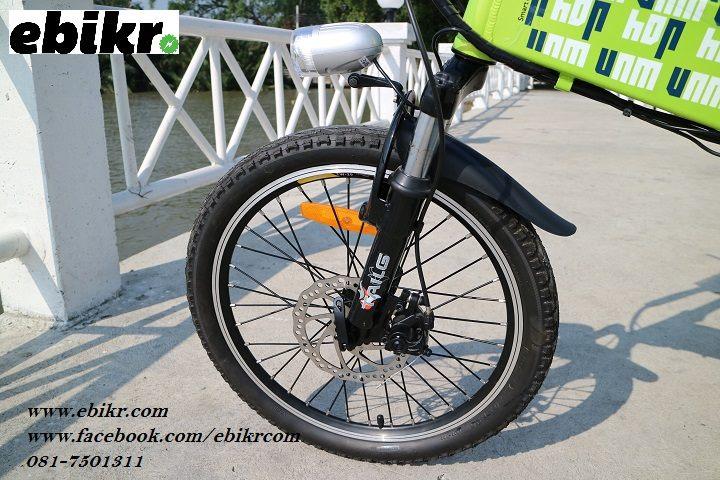 รีวิวจักรยานไฟฟ้าพับได้ JOY