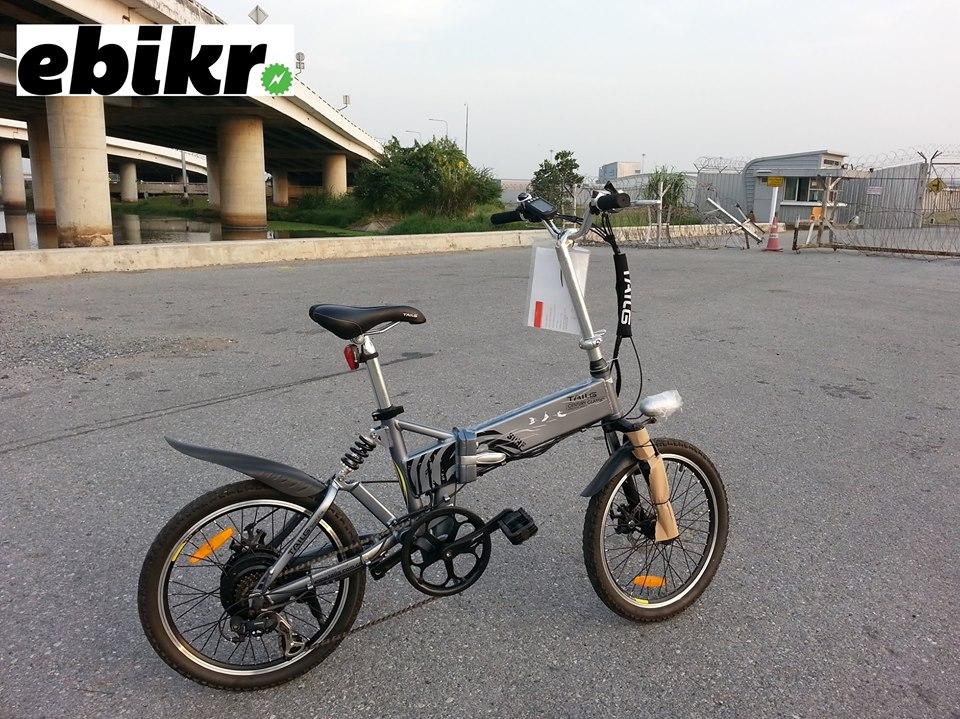 รีวิวจักรยานไฟฟ้าพับได้ SURF II