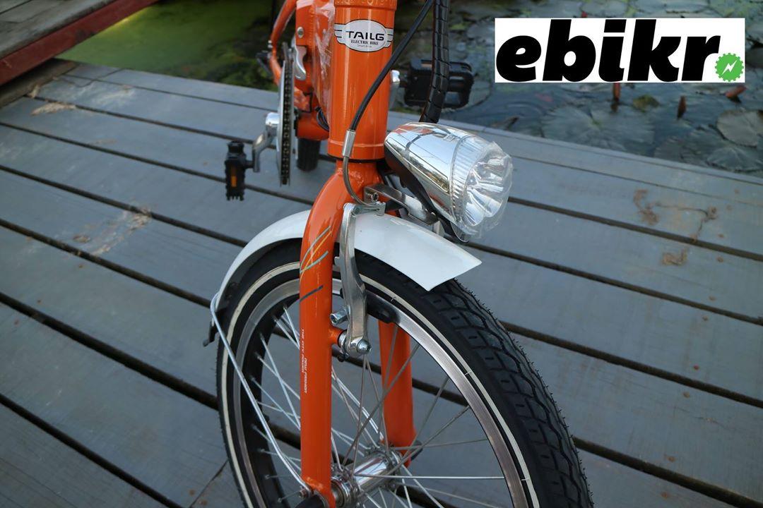 รีวิวจักรยานไฟฟ้าพับได้ Cute II